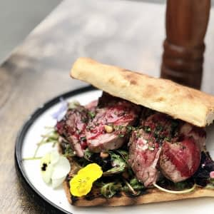Gourmet Lamb Sandwich