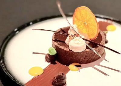 Chocolate Orange Frangipane