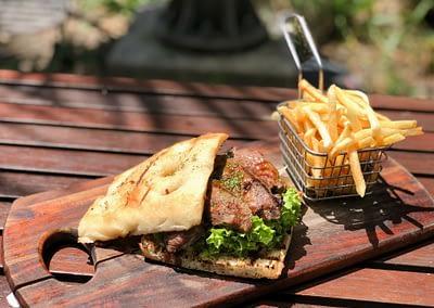 Gourmet Steak Sandwich